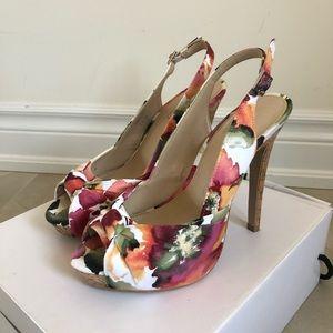 "Aldo Farina Floral High Heels 5"""